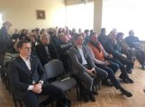 Vainute įvyko Savivaldybės vadovų praėjusių metų rezultatų pristatymas