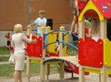 Atidarytos vaikų žaidimų aikštelė ir sporto kompleksas