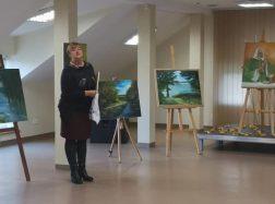 J. A. Fiserienės Toleikytės tapybos darbų paroda Tėvėlio gimtinėje