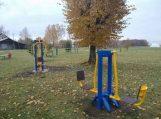 Šyliuose įrengtas vaikų ir jaunimo sporto aikštynas