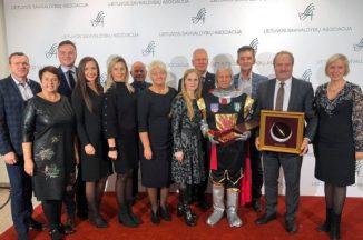Ausinės krivūlės riterio apdovanojimas skirtas Švėkšnos seniūnui Alfonsui Šepučiui