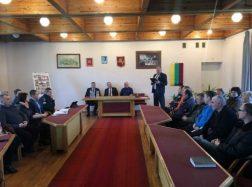 Juknaičiuose pateikta Savivaldybės vadovų veiklos ataskaita
