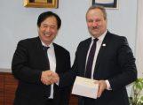 Savivaldybėje lankėsi svečias iš Japonijos