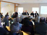 Savivaldybės vadovai pristatė veiklos ataskaitą Švėkšnos seniūnijos gyventojams