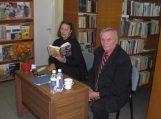 """R. Flick knygos """"Emma, pastoriaus duktė"""" pristatymas Rusnėje"""