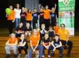 """Traksėdžių mokyklos mokiniai dalyvavo """"Sveikatiados"""" žaidynėse"""
