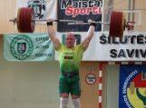 Europos čempionas A. Didžbalis varžėsi Šilutėje