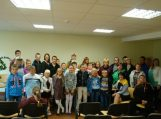 Vaikų knygos mugės viešnia iš Rusijos lankėsi Šilutės socialinių paslaugų centre