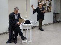 Literatūriniame spektaklyje atgijo Juozo Tumo-Vaižganto kūryba