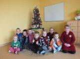 Kalėdinė dovana Juknaičių pagrindinės mokyklos Pašyšių skyriui