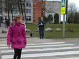 Saugaus eismo konkursas Lumpėnuose