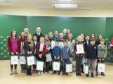 Apdovanoti Šilutės rajono seniūnijose organizuotų piešinių konkursų nugalėtojai