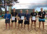 Pasieniečiai surengė paplūdimio tinklinio turnyrą