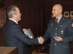 Šilutės policijos komisariate pristatytas naujasis viršininkas – Artūras Mikalauskas