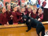 Pasieniečiai lankėsi Usėnų pagrindinėje mokykloje