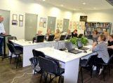 """Vydūno viešosios bibliotekos darbuotojai kompetencijas kėlė mokymuose """"Media 1"""""""