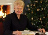 Prezidentės Dalios Grybauskaitės sveikinimas Lietuvos žmonėms šv. Kalėdų proga