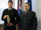 Policininkė E. Vaitkutė šeštus metus iš eilės neapleidžia lyderių pozicijų