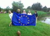 Europos vėliava iškelta Ventės rago švyturyje ir Šilutėje