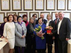 Rusnės seniūnijos raštvedei G. Edriukaitienei – padėka už ilgametį darbą