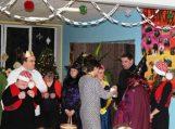 Socialinių paslaugų įstaigos lankytojai surengė Kalėdinę popietę