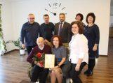 Su 90-uoju gimtadieniu pasveikintas juknaitiškis A. Martinkus