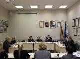 Susitikimas su Socialinės apsaugos ir darbo ministerijos atstovėmis