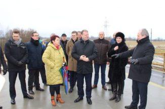 Rusnėje lankėsi Lietuvos Respublikos Ministras Pirmininkas Saulius Skvernelis
