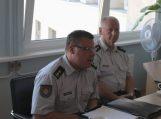 Savivaldybėje lankėsi Klaipėdos apskrities priešgaisrinės gelbėjimo valdybos vadovas