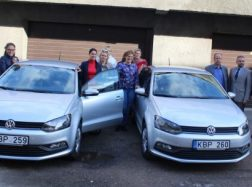 Šilutės seniūnijos socialinėms darbuotojoms perduoti 2 nauji automobiliai
