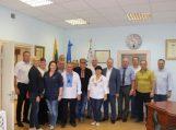 Savivaldybėje lankėsi svečiai iš Ukrainos