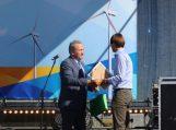 Atidarytas naujas vėjo jėgainių parkas