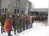 Sausio 13-os dienos minėjime dalyvavo Pagėgių  jaunieji šauliai – ugniagesiai