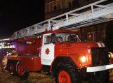 Bute kilus gaisrui nukentėjo savininkas, evakuoti ir kaimynai