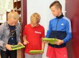 Grabupiuose vaikai konstravo robotukus ir dalyvavo čempionate