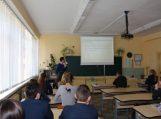Edukacinė pamoka Šilutės Pamario pagrindinėje mokykloje