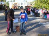 Traksėdžių pagrindinės mokyklos mokiniai dalyvavo 2-ajame Solidarumo bėgime