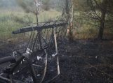 Armalėnuose nukritus lėktuvui lakūnas žuvo