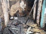 Per gaisrą žuvo žmogus