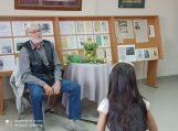 Vaikų rašytojas Sigitas Poškus susitiko su jaunaisiais skaitytojais