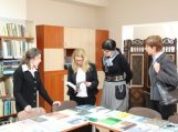 Šilutė rajono viešnios iš Prezidentūros neaplenkė ir F. Bajoraičio viešosios bibliotekos
