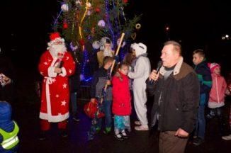 Kalėdų eglutė įžiebta ir Balčiuose