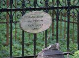 Bibliotekininkai aplankė Hermano Zudermano tėvų kapą