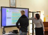 Integruotoje pamokoje jaunimas mokėsi komunikavimo