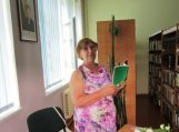 Susitikimas su tautodailininke ir knygų autore