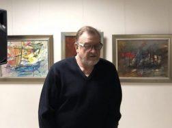 Tapytojo Ernesto Žvaigždino išgyventa kūrybos paslaptis  išreikšta paveiksluose