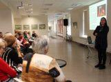 Paskaitoje senjorai išgirdo daug naudingos informacijos apie sveikatinančius maisto produktus
