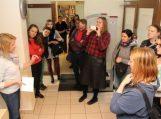 """Bibliotekos """"HUB'as"""" pristatytas """"Erasmus+"""" programos dalyviams"""