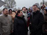 Premjeras: Vyriausybė pasiryžusi pastatyti estakadą Rusnėje 2018 metais