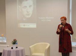 Aldona Ruseckaitė pristatė savo knygas apie lietuvių rašytojus